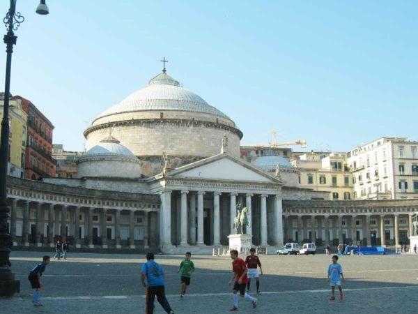 Neapel Piazza del Plebiscito